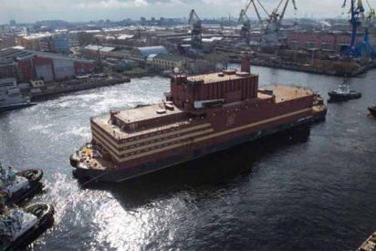 "Este es el ""Titanic nuclear ruso"", la planta atómica flotante que Putin planea vender al mundo"