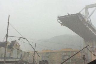 Todas las imágenes de la tragedia en el viaducto de Génova