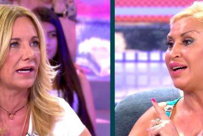 Tremenda bronca entre Raquel Mosquera y Belén Rodríguez, respondiendo la peluquera en tercera persona