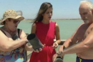 Tortazo: Esto pasa cuando una reportera de 'Aquí la Tierra' se niega a untarse de barro