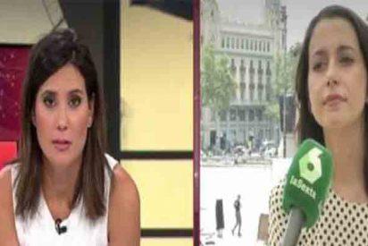 Inés Arrimadas sacude un 'zasca' a la periodista María Llapart que deja patidifusa a La Sexta