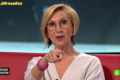 """Rosa Díez aplasta con un tuit a los 'tractorianos': """"Quien pone una pancarta derogatoria contra el Jefe del Estado y no la firma es un cobarde"""""""