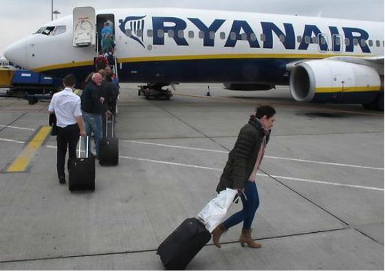 Estos son los 82 vuelos de Ryanair cancelados hoy en España por la huelga de pilotos