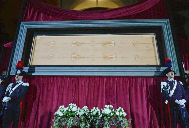 La Sábana Santa de Turín, abierta 24 horas