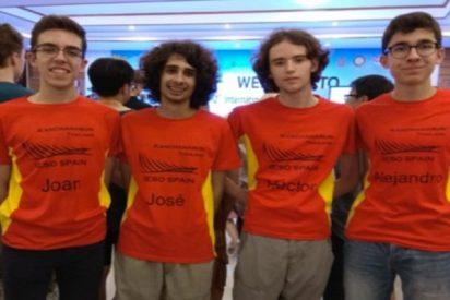 La familia Sacristán en lo más alto del olimpismo científico