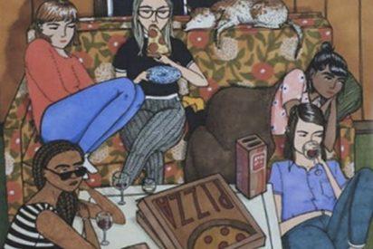La ilustradora que retrata las cosas que hacen las mujeres cuando nadie las ve