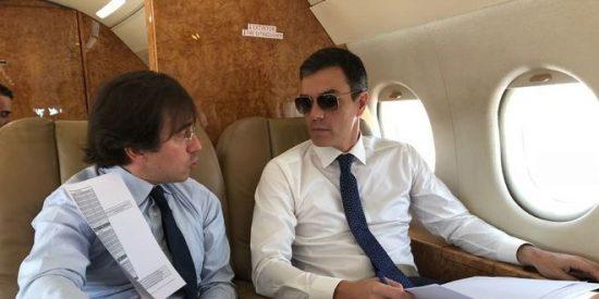 El perfil no borrado en 'Linked in' de Pedro Sánchez le vincula a un escándalo financiero