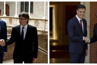 Señor Sánchez, ¿cómo puede seguir dándole la mano a estos repugnantes fascistas catanazis?