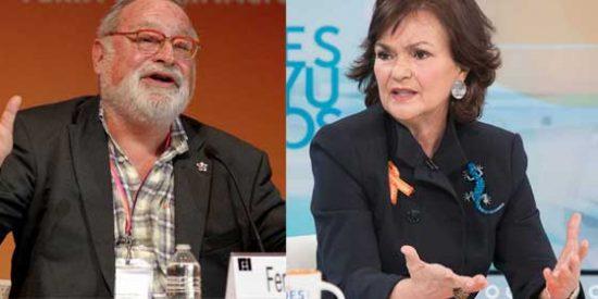 La redes insultan a Savater por hacer un llamamiento a los jóvenes a rebelarse contra el puritanismo feminista que defiende Carmen Calvo
