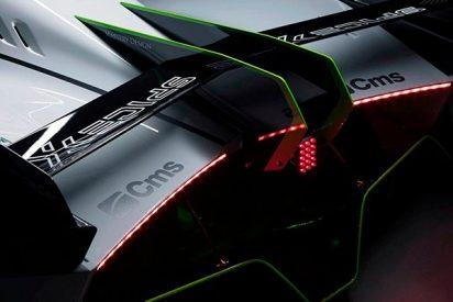 Descubre el exótico diseño del nuevo coche de carreras eléctrico Spice-X SX1