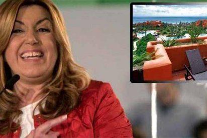 Las vacaciones de la 'sultana' Susana Díaz': jacuzzi y a 1.100 euros la noche