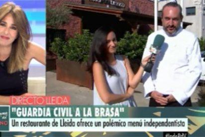 """Telecinco le hace un anuncio al restaurante de las 'manitas de jueces y fiscales': """"¡Dígame a qué saben!"""""""