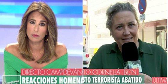 """El show dantesco en T5 con el atentado terrorista de Cornellá: """"Igual es un arrebato o cuestión de papeles"""""""