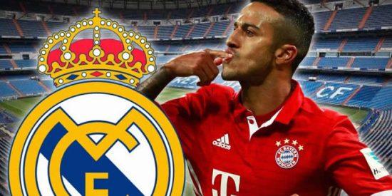 Thiago Alcántar también besará el escudo del Real Madrid