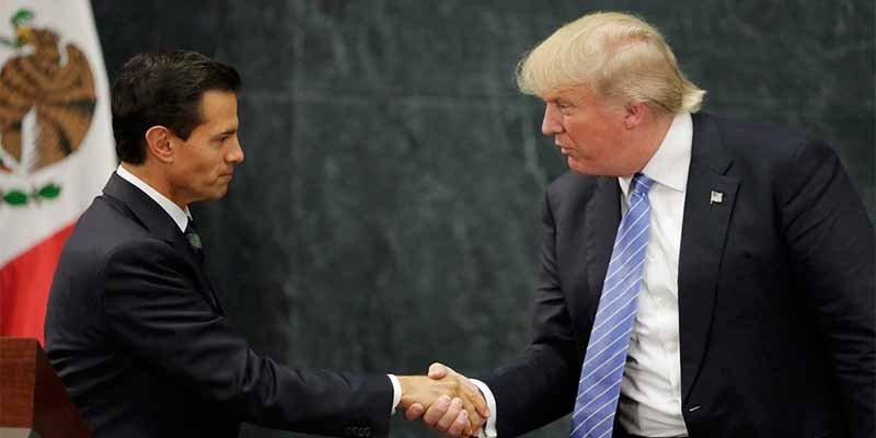 Donald Trump celebró el nuevo tratado comercial con México del que Canadá queda inicialmente excluida