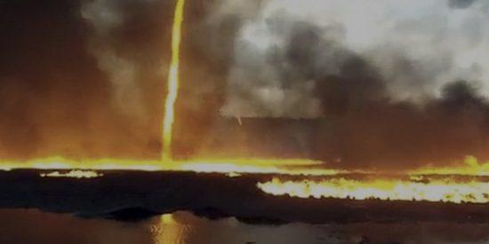 'Firenado': Así se forma el terrorífico y letal tornado de fuego