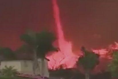 Un feroz 'tornado de fuego' devora todo a su paso en medio de incendios en California