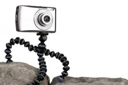 Gadgets de viajes: Trípode Joby GorillaPod