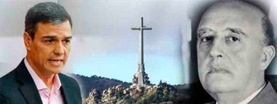 Aumentan un 50% las visitas al Valle de los Caídos en vísperas de que Pedro Sánchez desentierre a Franco