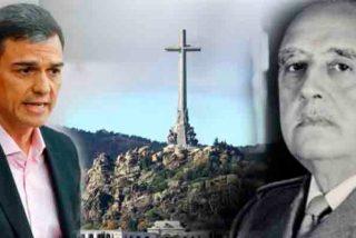Hace mucho que los españoles enterraron a Franco, pero Pedro Sánchez no se había enterado
