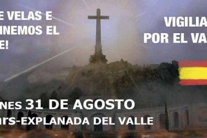 Movimiento por España convoca una Vigilia con velas en el Valle de los Caídos