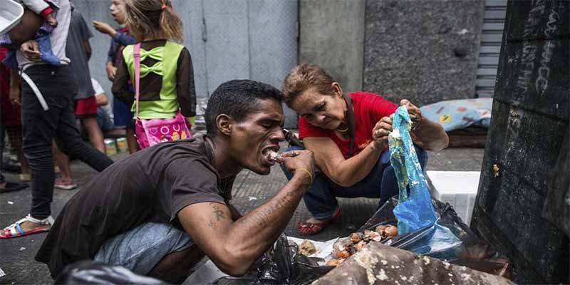 Los crímenes por hambre de los que Podemos callará como una puerta: Las consecuencias de la nefasta y criminal dictadura chavista
