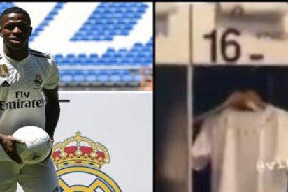 Marcelo se despista y desvela sin querer el dorsal de Vinicius: será el '16'