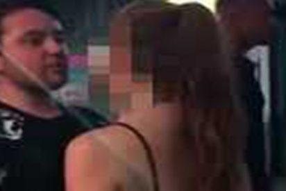 Este cobarde noquea a una mujer con un brutal golpe en la cara en Reino Unido