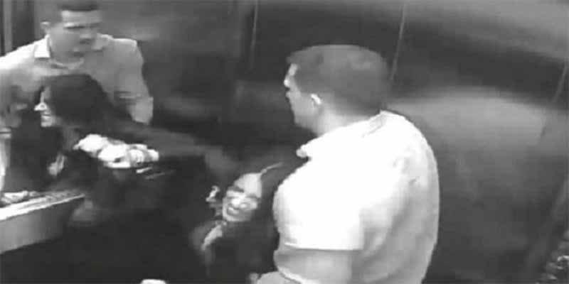Video: mira la brutal y repugnante paliza que un hombre le propina a su mujer en Brasil