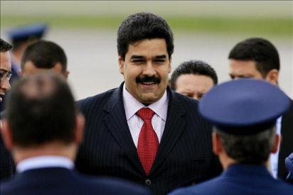 El dictador Nicolás Maduro recibe en Caracas al ministro de Exteriores de Turquía