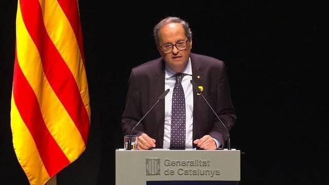 """El escupitajo de Torra a la cara de Sánchez llamando a la sublevación: """"El referéndum ya se ha hecho"""""""