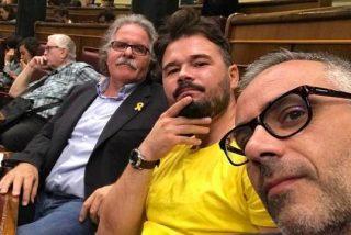 El zasca de ley del ministro Marlaska a Rufián por hacer novillos con una camiseta amarilla