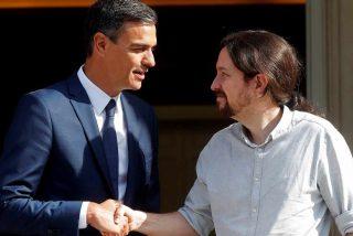 La lista de la compra del iluminado Iglesias al acorralado Sánchez: bajar la luz y salario mínimo de 1.000 €