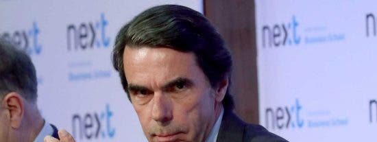 Aznar mete en vereda al portavoz de la proetarra Bildu