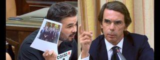 Rufián-Aznar: Esperpento circense en el tremendo choque