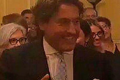 Álvaro de Marichalar solito revienta la fiesta 'indepe' por la Diada en Ginebra