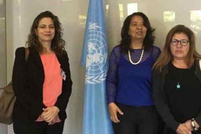 La Embajada de Venezuela en Madrid usa a las mujeres del chavismo para blindar a Maduro