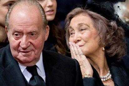 El amargo refugio de doña Sofía por no poder arropar a la Princesa de Asturias