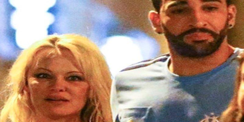 No creerás la razón por la que Pamela Anderson terminó su relación con el futbolista Adil Rami