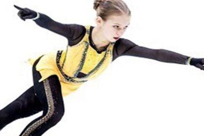 Esta patinadora rusa de 14 años establece un récord con un salto nunca intentado en patinaje femenino