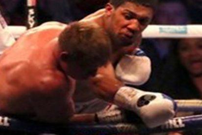 Con este impactante KO, Anthony Joshua venció a Alexander Povetkin