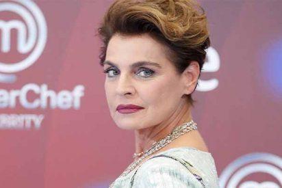 Una cabreadisima Antonia Dell'Atte va a demandar a sus compañeros de 'MasterChef Celebrity'
