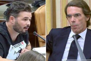 """Arcadi 'aconseja' a Aznar haber contestado a Rufián así: """"¿La polla, mariconazo, cómo prefieres comérmela, de un golpe o por tiempos?"""""""