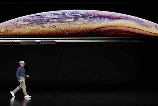 Apple: las primeras imágenes de los nuevos iPhone XS