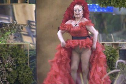 El vídeo más loco de Aramis Fuster en 'GH VIP' en el que termina enseñando el potorro