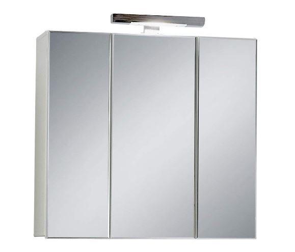 armarios de baño con espejo y luz