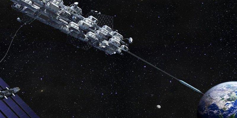"""Este ascensor espacial diseñado por Japón quiere llevarte """"en autobús"""" a una estación espacial en ocho días"""