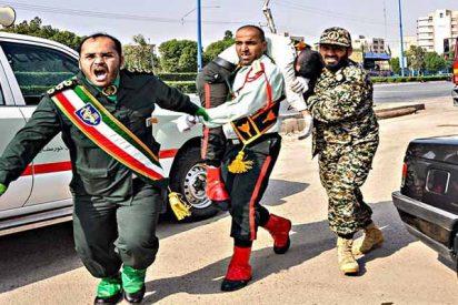 Decenas de muertos por un ataque terrorista durante un desfile militar en Irán