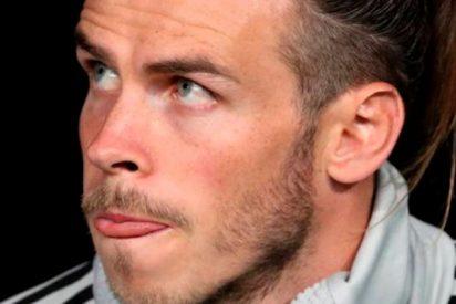 Bale fue el protagonista de la anécdota del partido...desde el banquillo