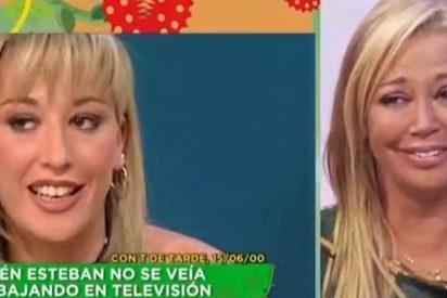 Telemadrid: entre estas dos fotos de Belén Esteban hay 'solo' 17 años